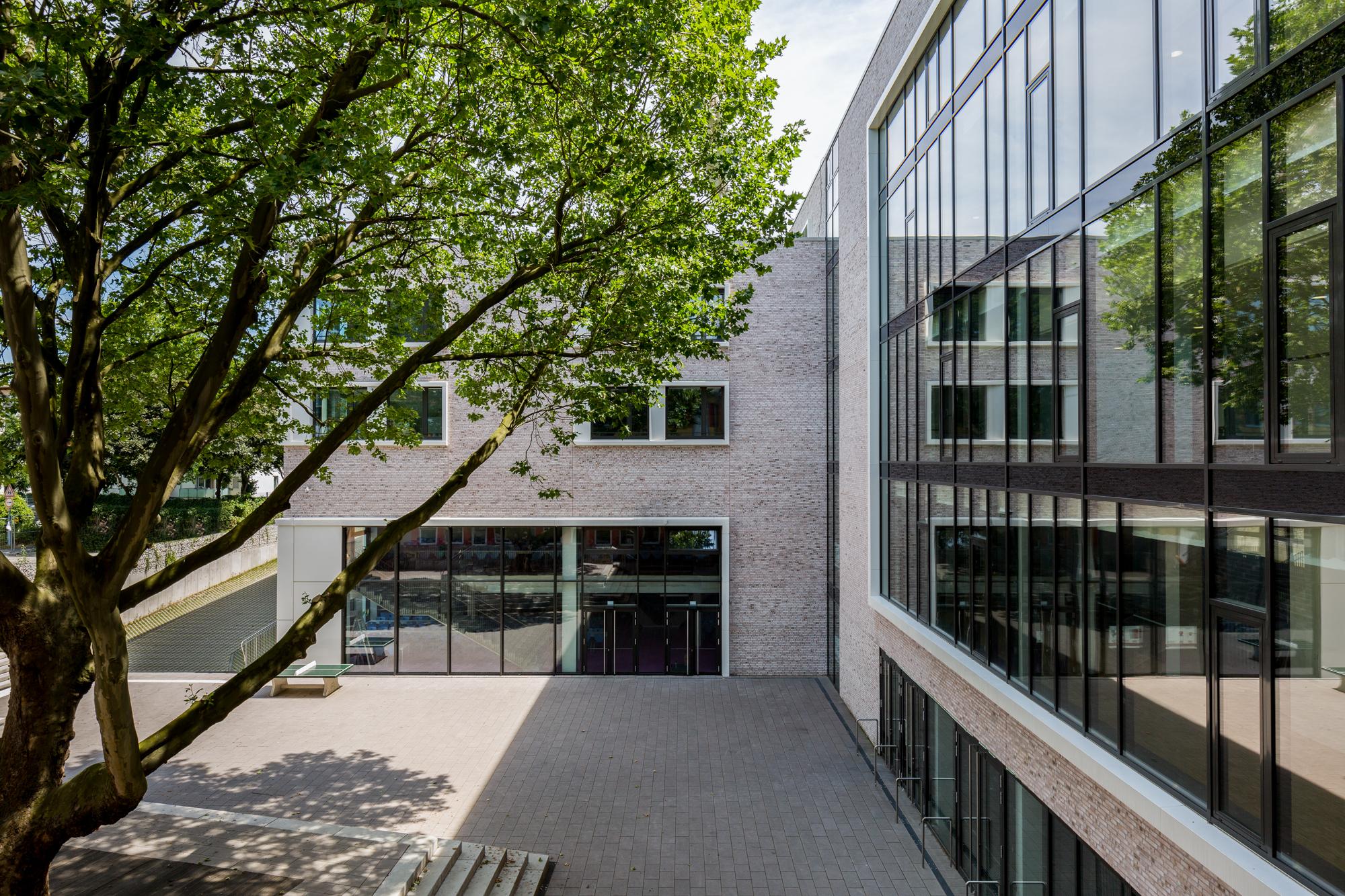 Schulhof Schulzentrum Buchheim